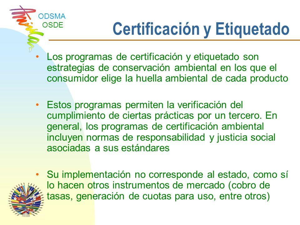 Certificación y Etiquetado