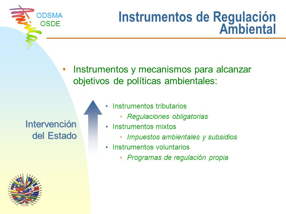 Instrumentos de Regulación Ambiental