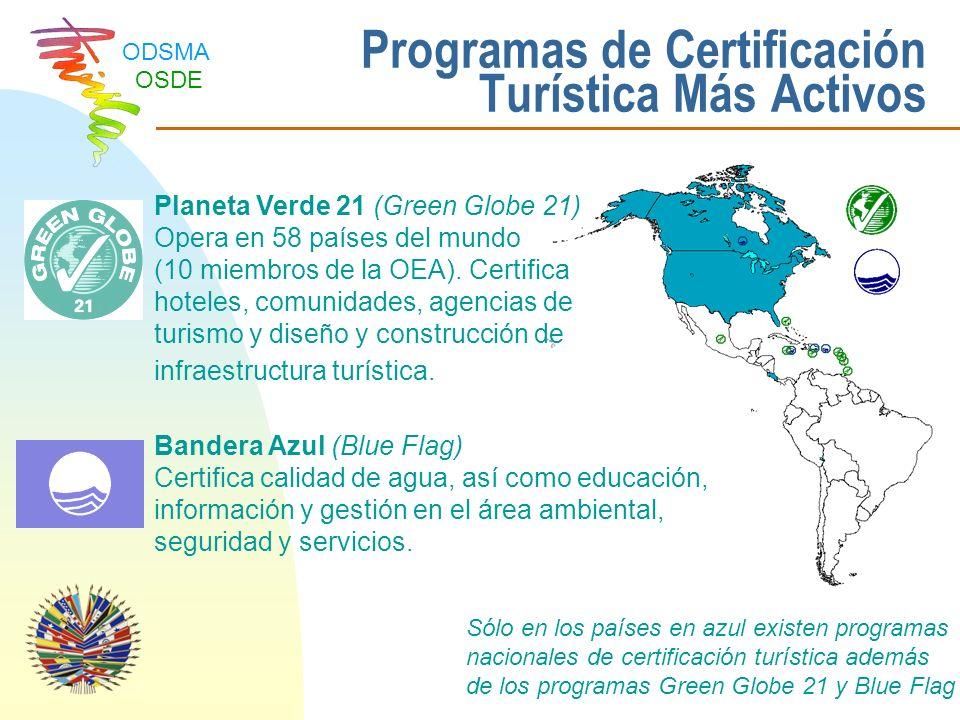 Programas de Certificación Turística Más Activos