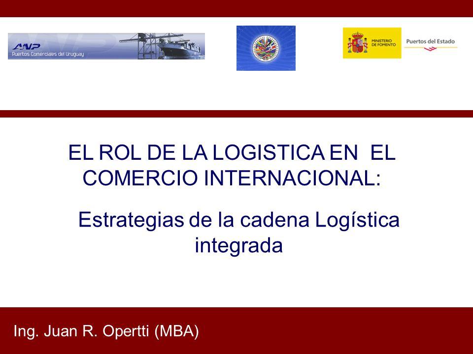 EL ROL DE LA LOGISTICA EN EL COMERCIO INTERNACIONAL: