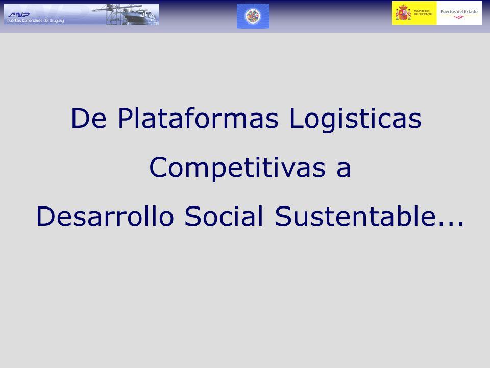 De Plataformas Logisticas Competitivas a