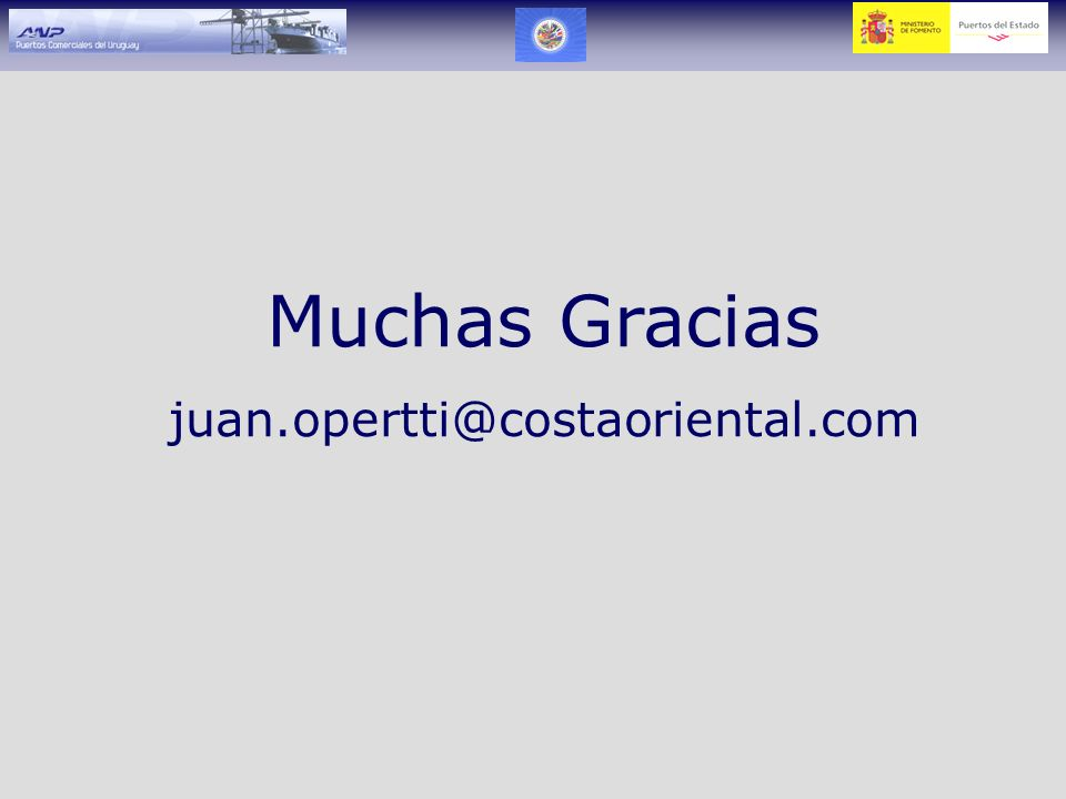 Muchas Gracias juan.opertti@costaoriental.com