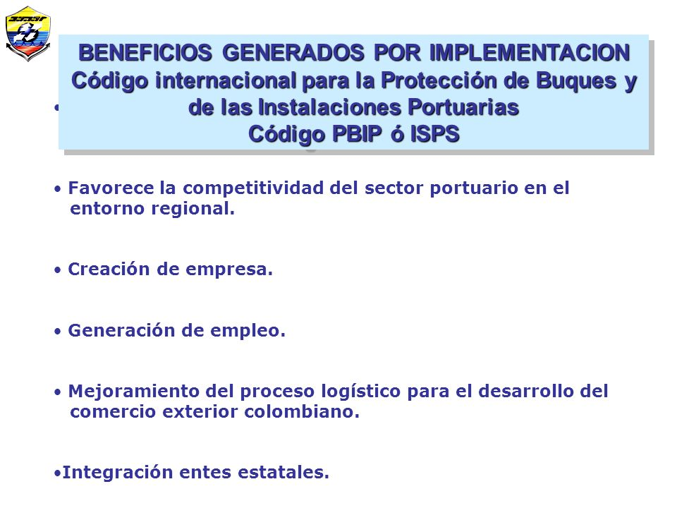 BENEFICIOS GENERADOS POR IMPLEMENTACION