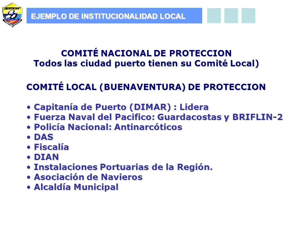 COMITÉ NACIONAL DE PROTECCION