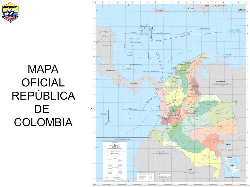 Mapa Oficial (Fronteras)