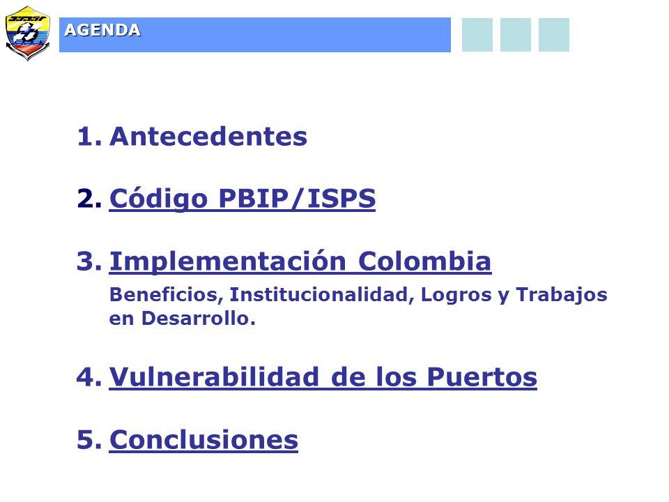 Implementación Colombia