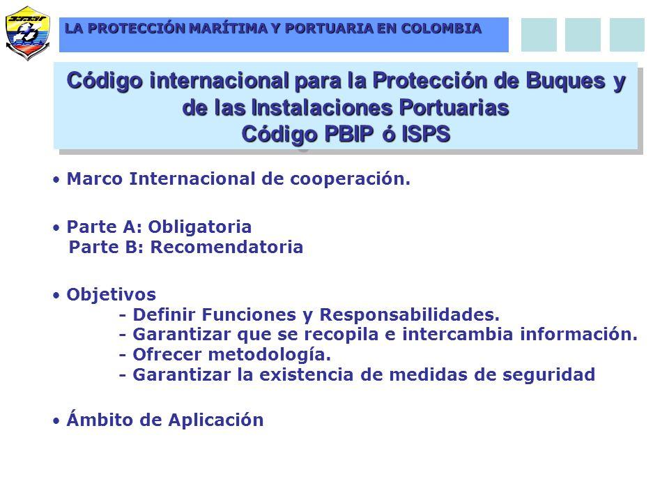 LA PROTECCIÓN MARÍTIMA Y PORTUARIA EN COLOMBIA