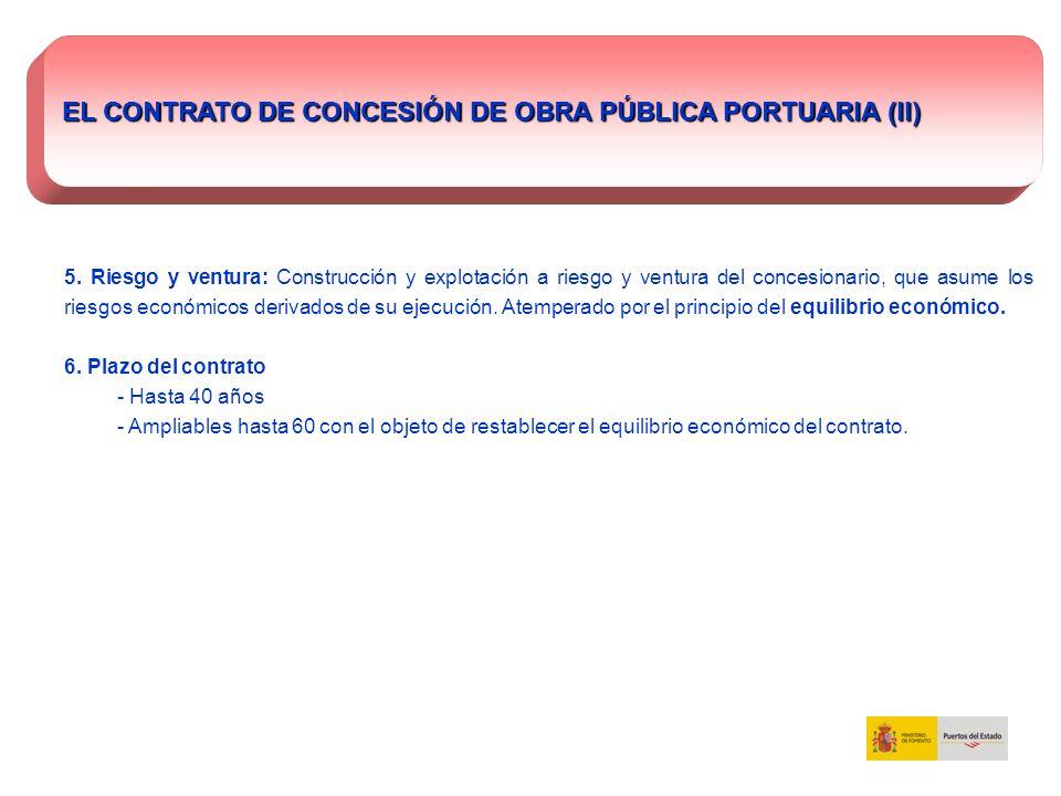 EL CONTRATO DE CONCESIÓN DE OBRA PÚBLICA PORTUARIA (II)