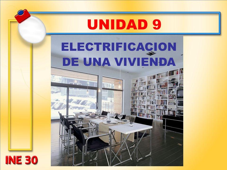 UNIDAD 9 ELECTRIFICACION DE UNA VIVIENDA