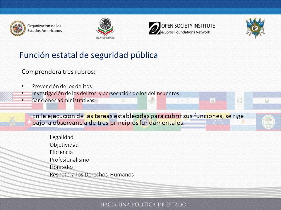 Función estatal de seguridad pública
