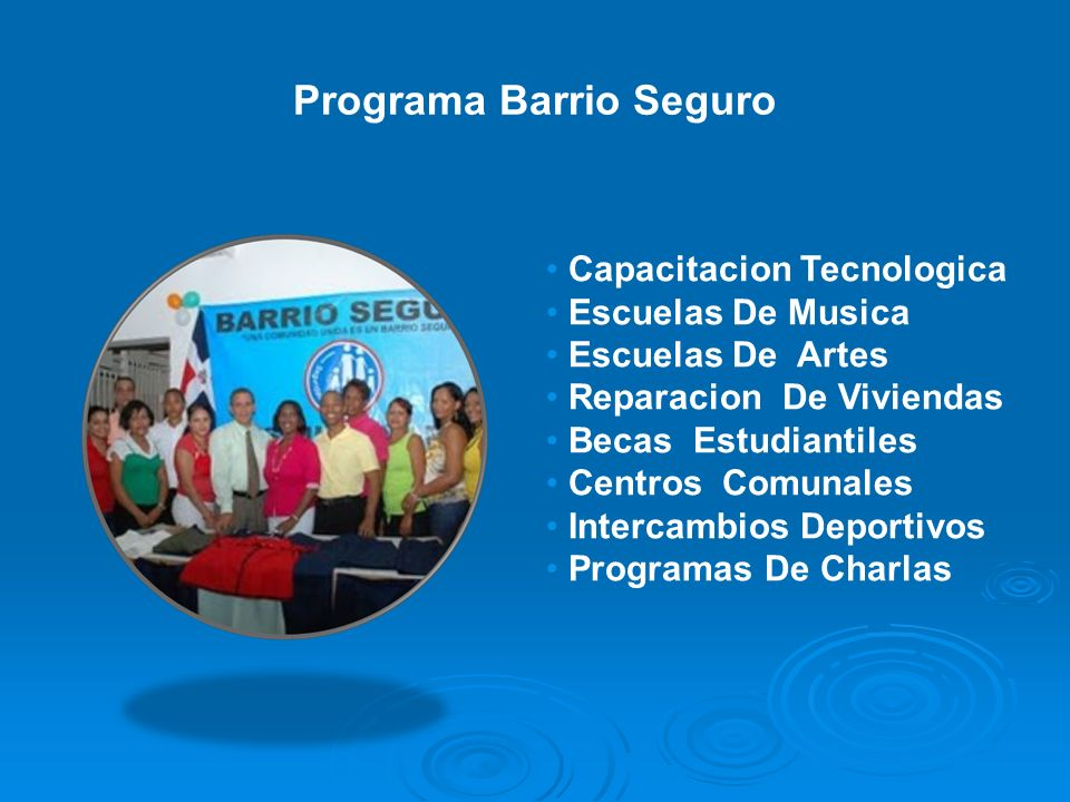 Programa Barrio Seguro