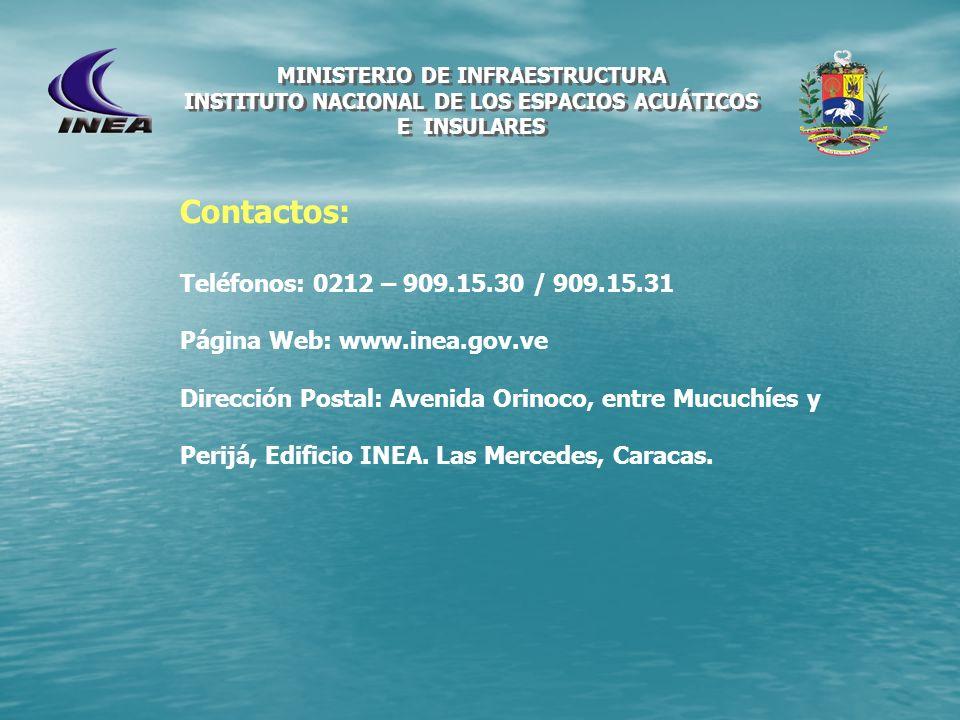 Contactos: Teléfonos: 0212 – 909.15.30 / 909.15.31