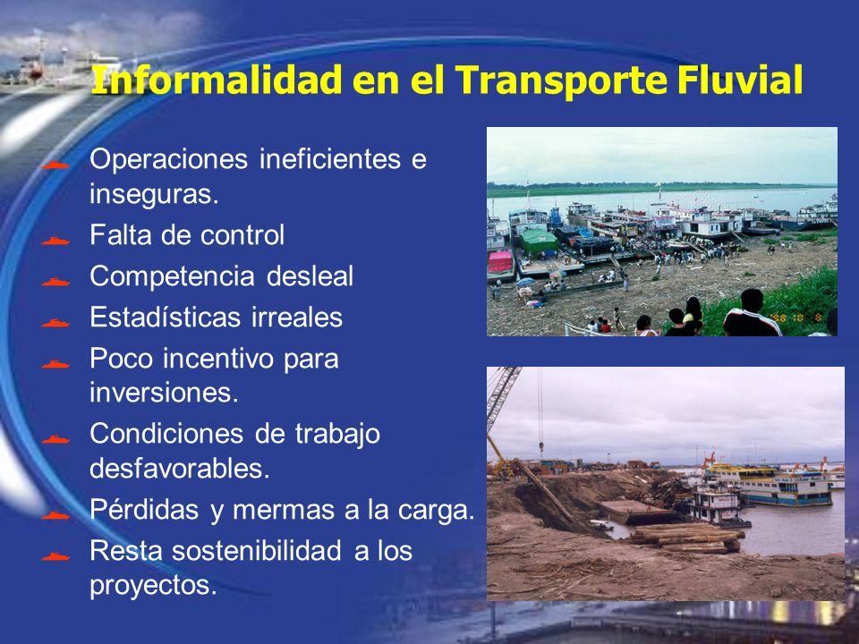 Informalidad en el Transporte Fluvial