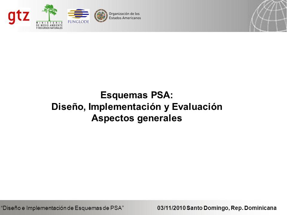 Diseño, Implementación y Evaluación
