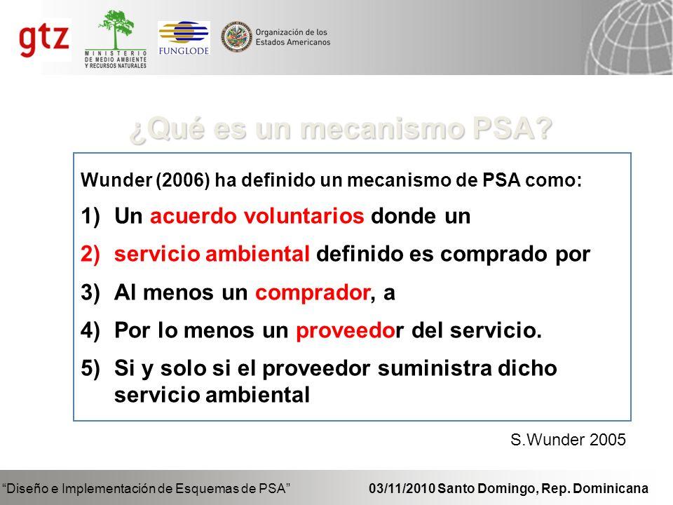 ¿Qué es un mecanismo PSA