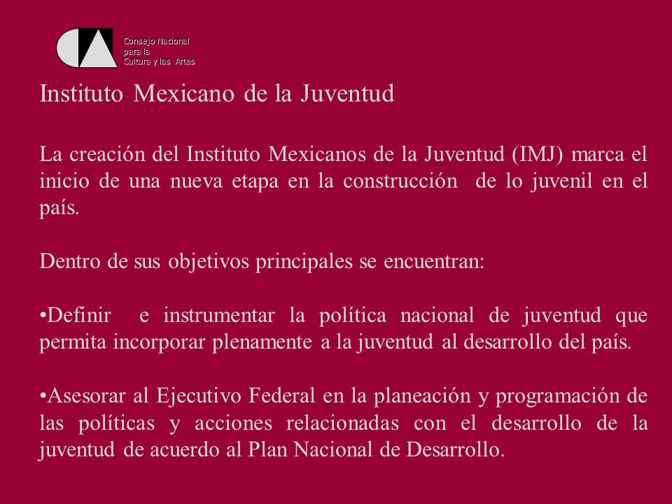 Instituto Mexicano de la Juventud