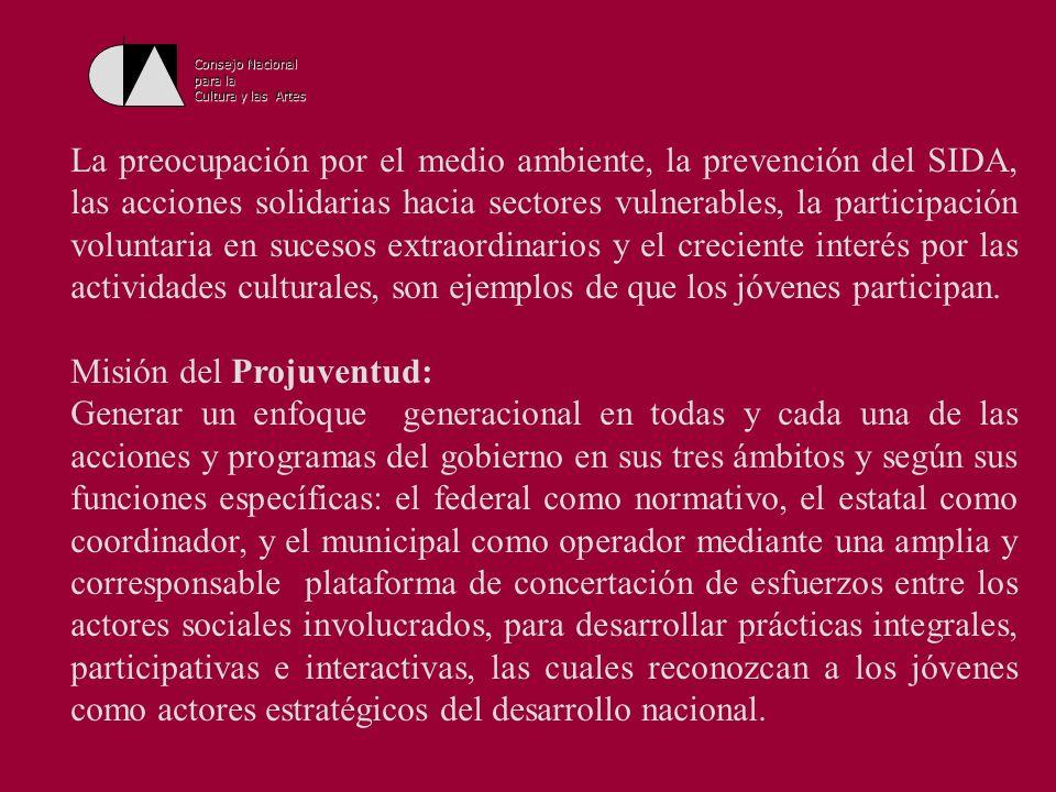 Misión del Projuventud: