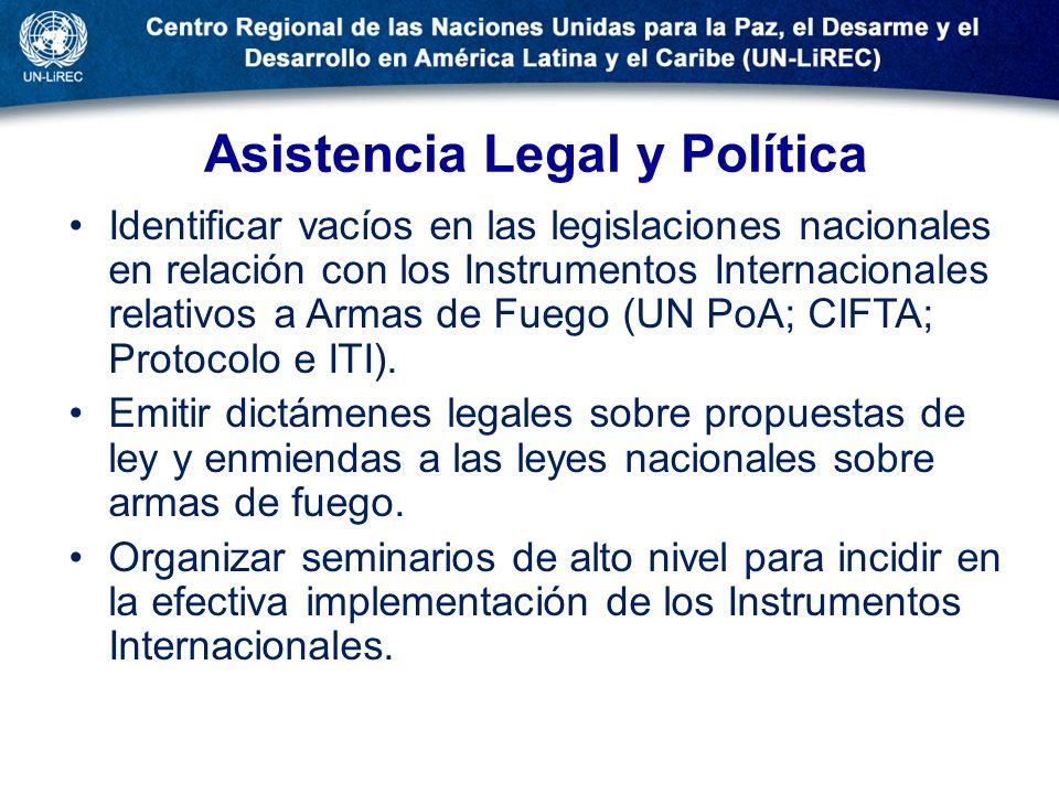Asistencia Legal y Política