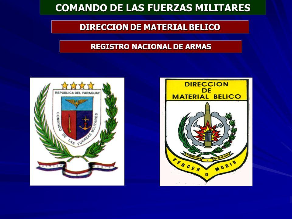 COMANDO DE LAS FUERZAS MILITARES