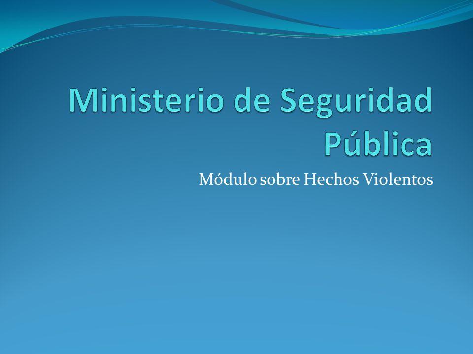 Ministerio de Seguridad Pública