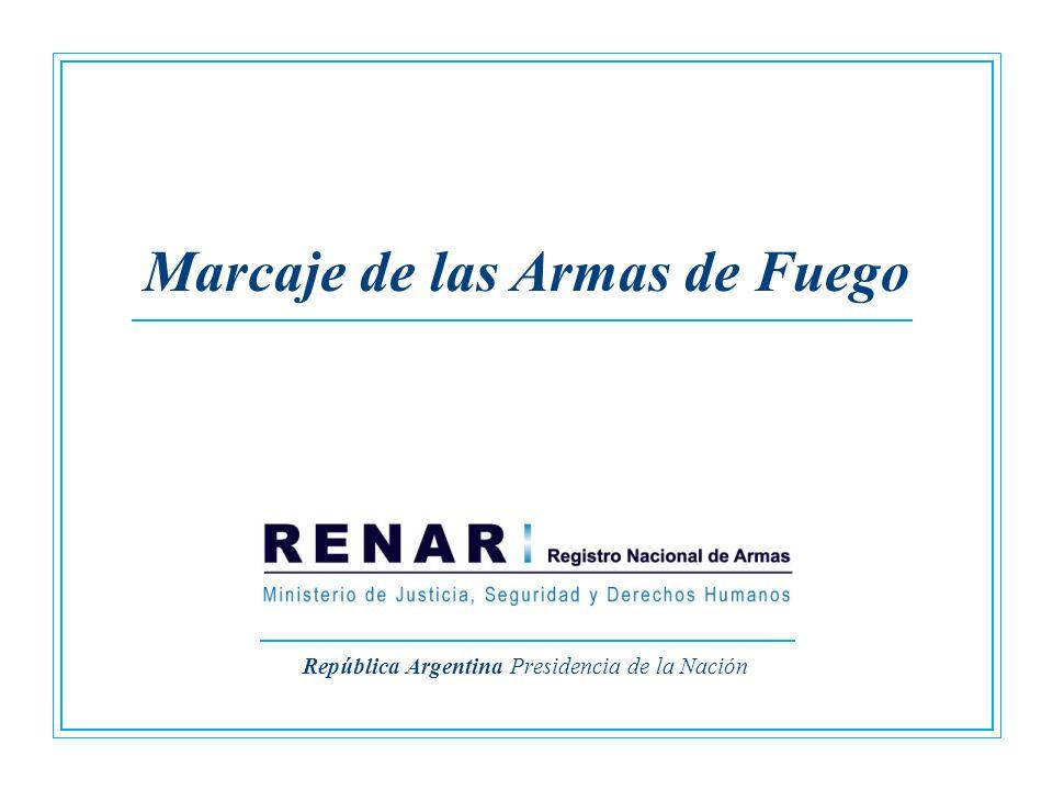 República Argentina Presidencia de la Nación