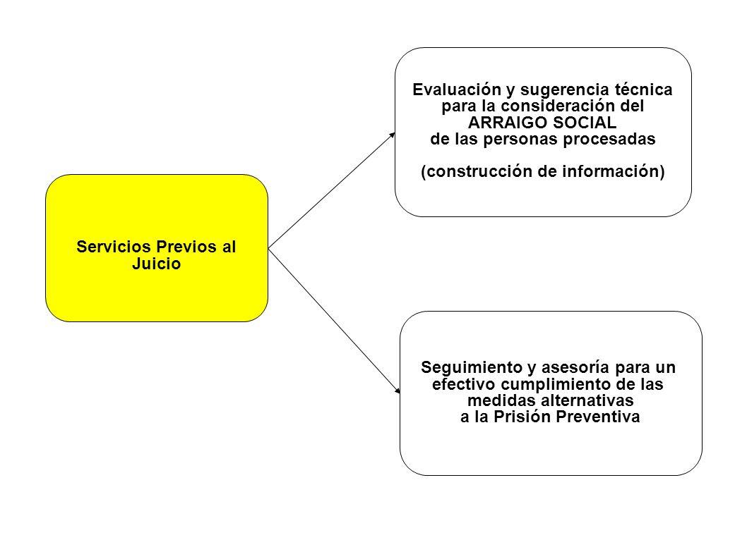 Evaluación y sugerencia técnica para la consideración del