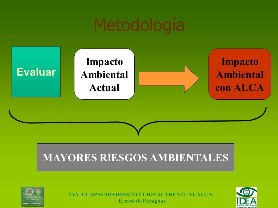 Metodología Evaluar Impacto Ambiental Actual