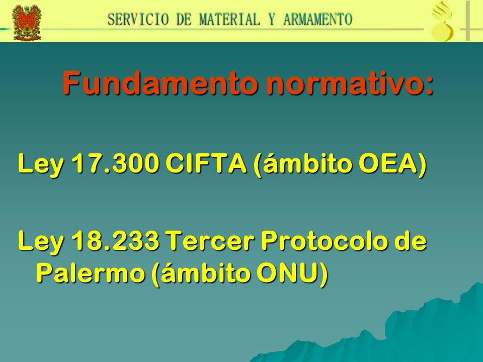 Fundamento normativo: