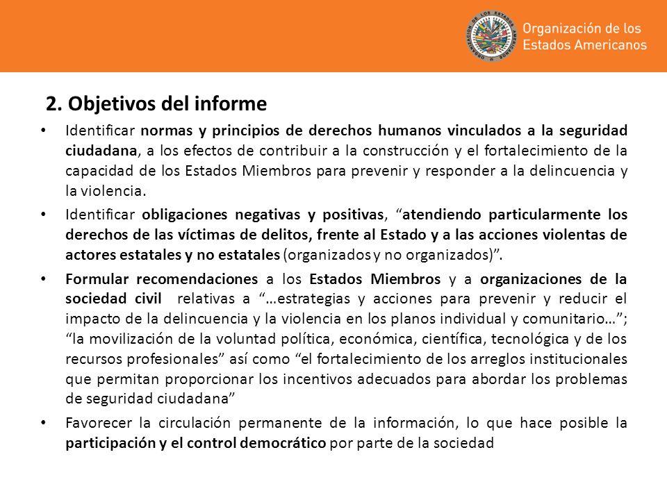 2. Objetivos del informe