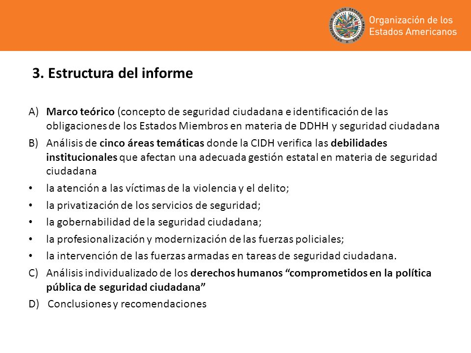 3. Estructura del informe