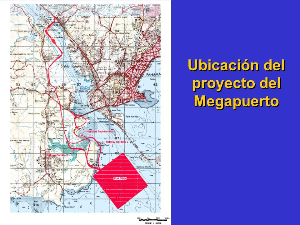 Ubicación del proyecto del Megapuerto