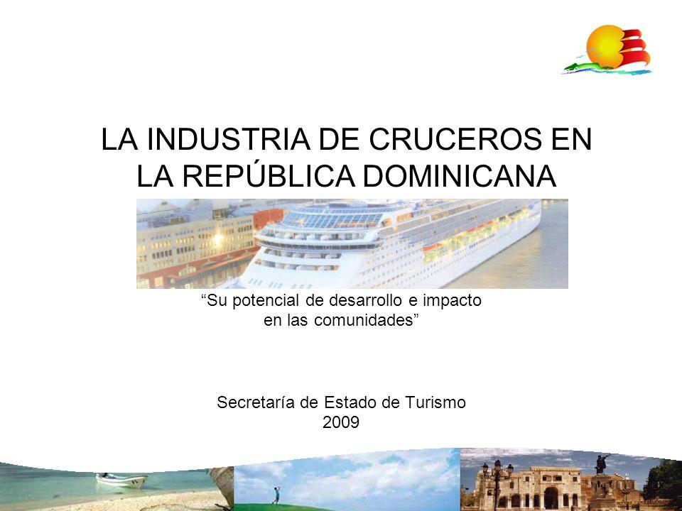 LA INDUSTRIA DE CRUCEROS EN LA REPÚBLICA DOMINICANA