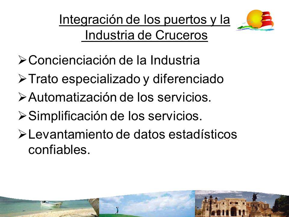 Integración de los puertos y la Industria de Cruceros