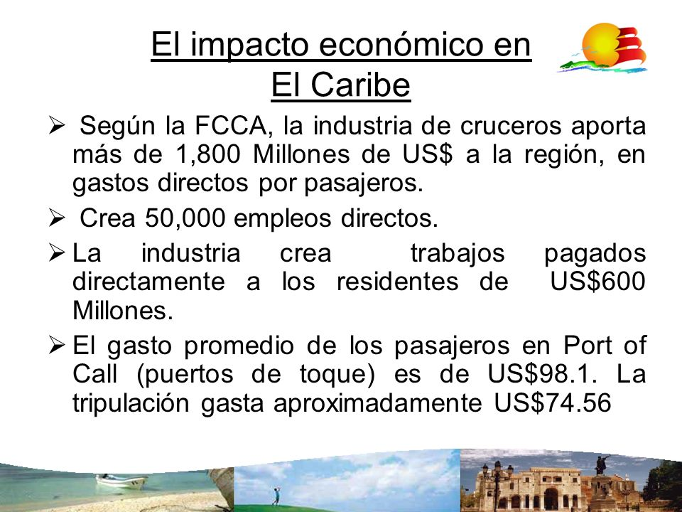 El impacto económico en El Caribe