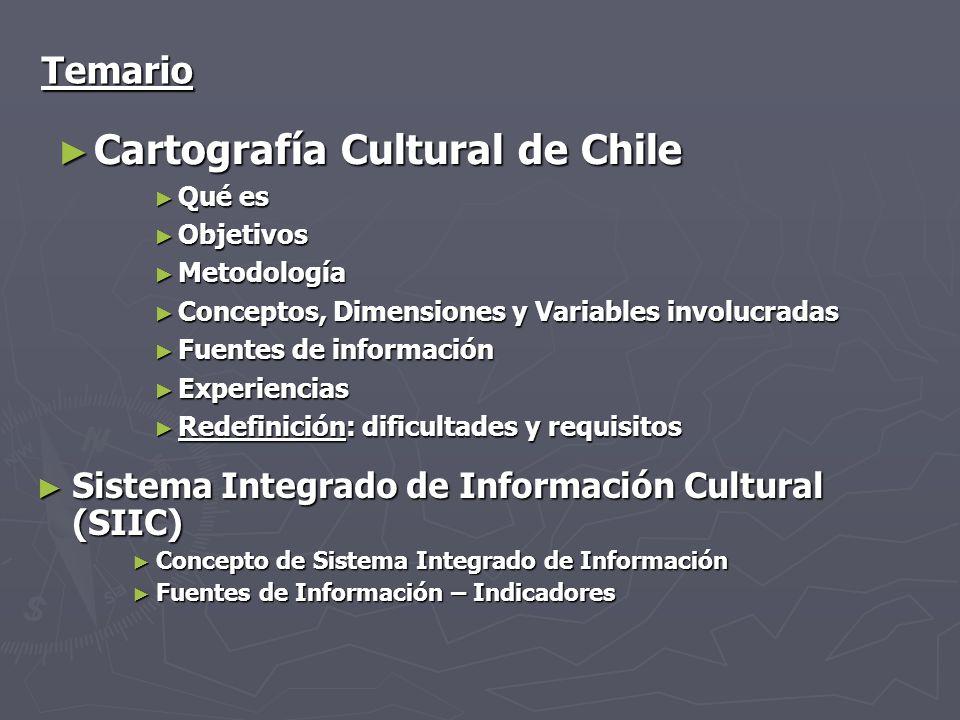 Cartografía Cultural de Chile