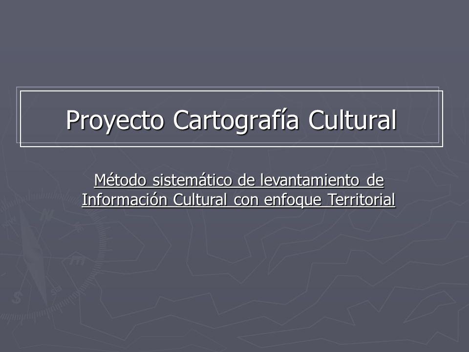 Proyecto Cartografía Cultural
