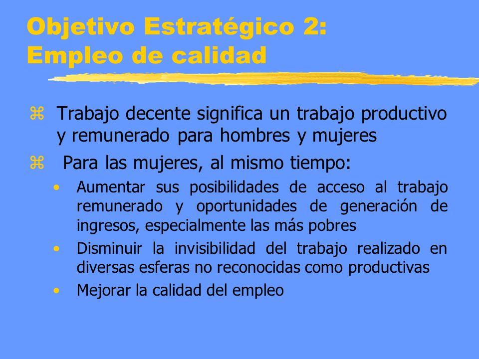 Objetivo Estratégico 2: Empleo de calidad