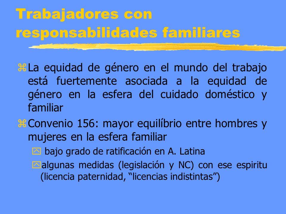 Trabajadores con responsabilidades familiares