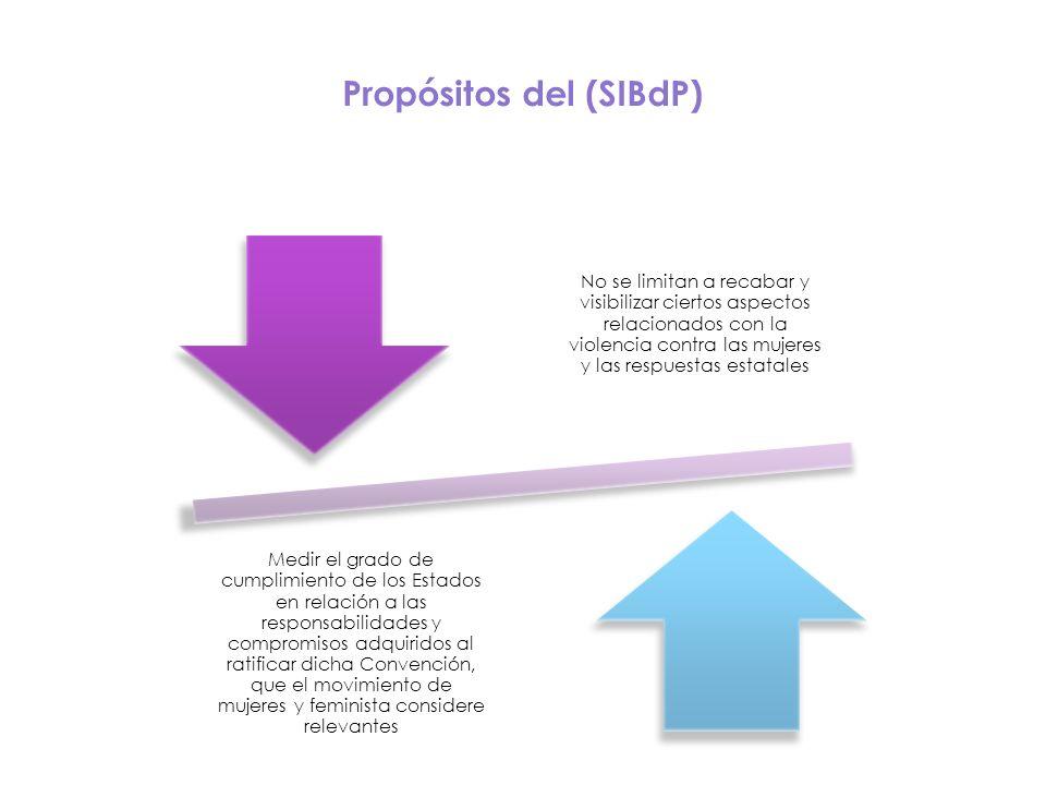 Propósitos del (SIBdP)