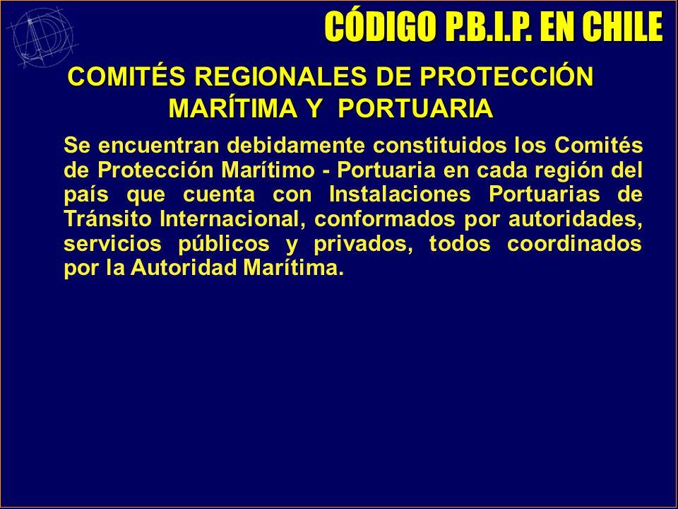 COMITÉS REGIONALES DE PROTECCIÓN