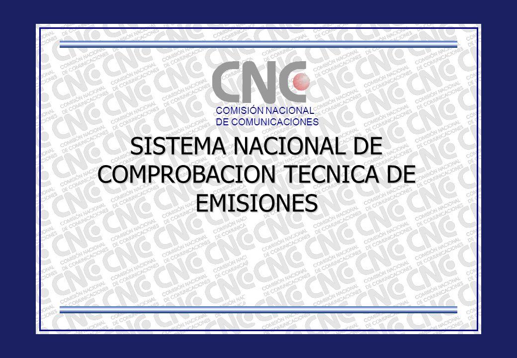 SISTEMA NACIONAL DE COMPROBACION TECNICA DE EMISIONES