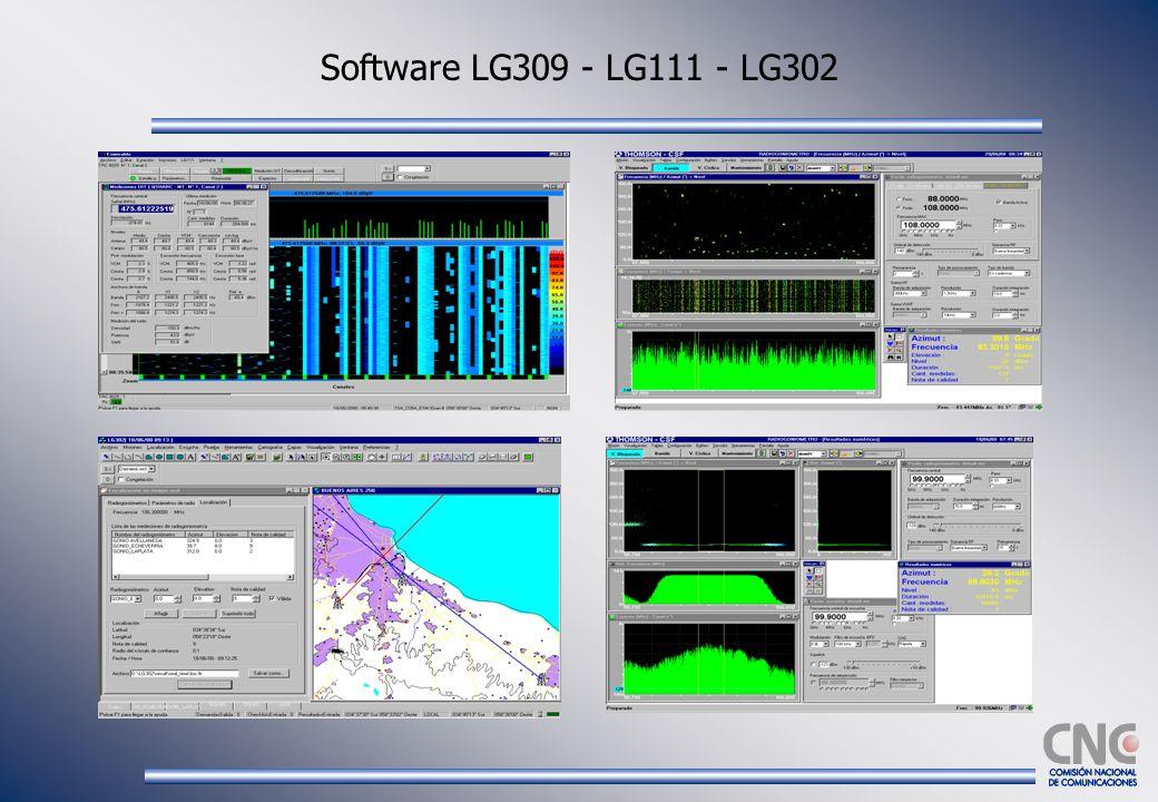 Software LG309 - LG111 - LG302