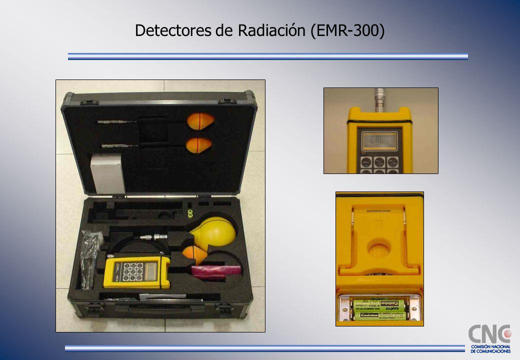 Detectores de Radiación (EMR-300)