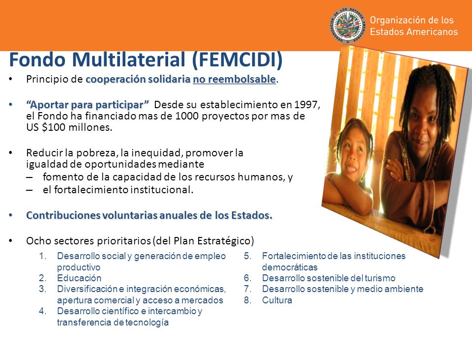 Fondo Multilaterial (FEMCIDI)