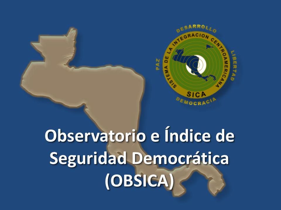 Observatorio e Índice de Seguridad Democrática
