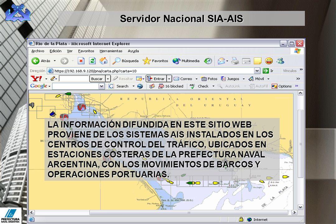 Servidor Nacional SIA-AIS