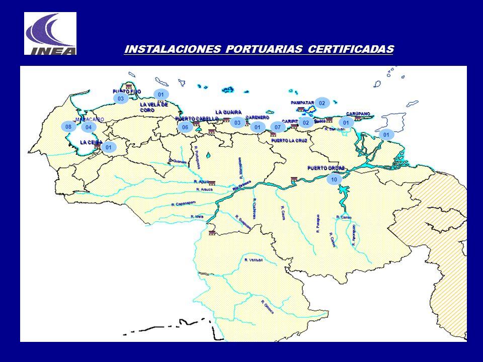 INSTALACIONES PORTUARIAS CERTIFICADAS
