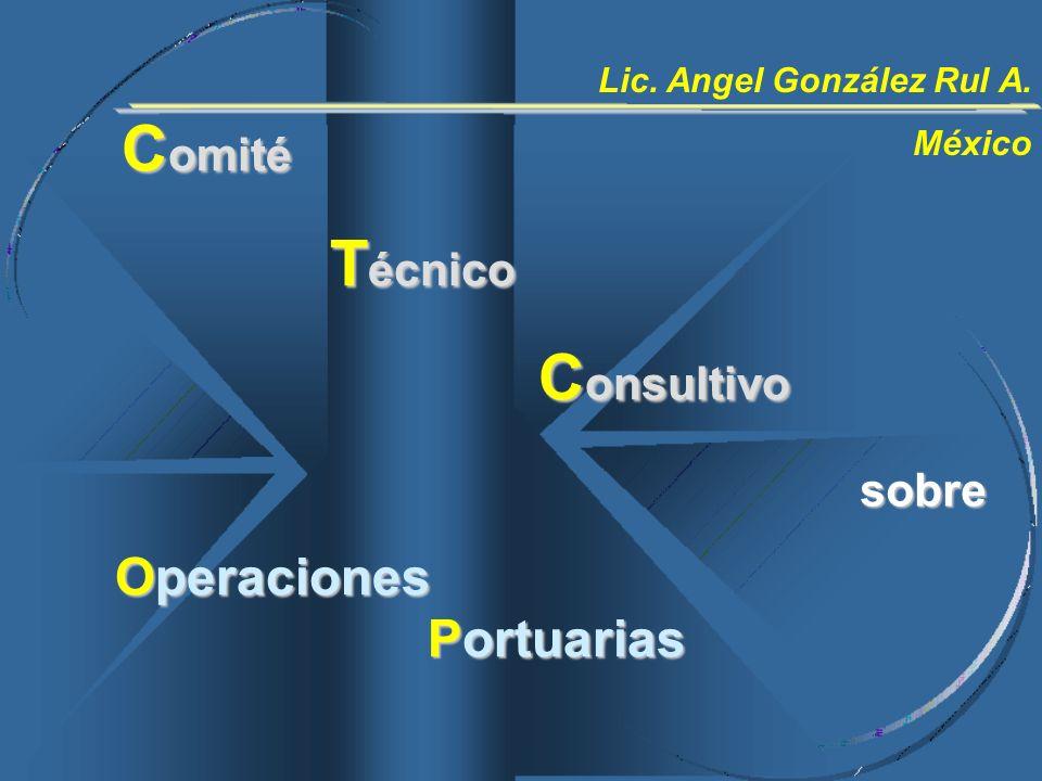 Comité Técnico Consultivo Operaciones Portuarias sobre