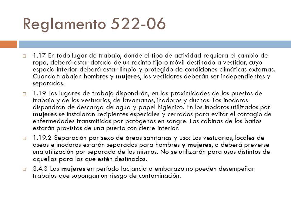 Reglamento 522-06
