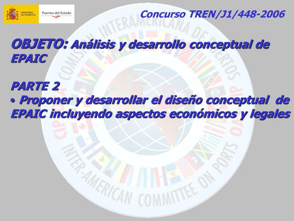 OBJETO: Análisis y desarrollo conceptual de EPAIC
